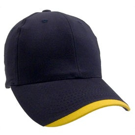 Wave Lightweight Brushed Cotton Twill Cap with Your Logo