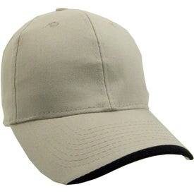 Monogrammed Wave Lightweight Brushed Cotton Twill Cap