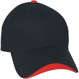 Wave Sandwich Cap Imprinted with Your Logo