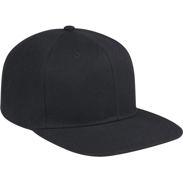 Black What's Up Snapback Cap