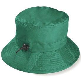 Monogrammed Wide Brim Hat