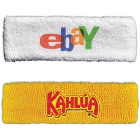 Heavyweight 2-Ply Headbands (Full Color Logo)