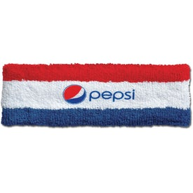 Striped Heavyweight 2-Ply Headbands (Heat Transfer)