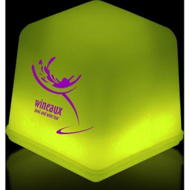 Yellow Glow Ice Cubes