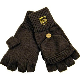 Fingerless Gloves with Flap (Unisex)