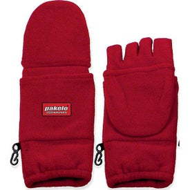Fingerless Mittens with Flap (Unisex)