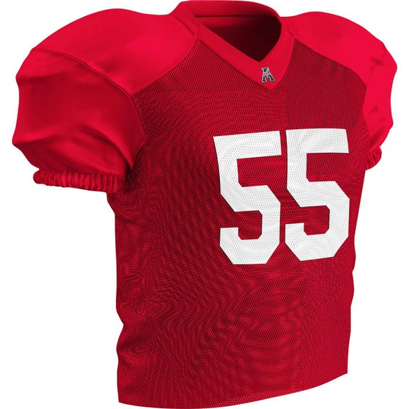 Scarlet Time Out Practice Football Jersey