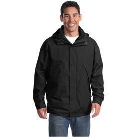 Monogrammed Port Authority 3-in-1 Jacket