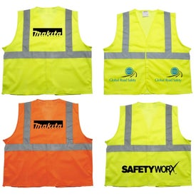 Custom ANSI 2 Yellow Safety Vest