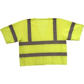 Monogrammed ANSI 3 Yellow Safety Vest