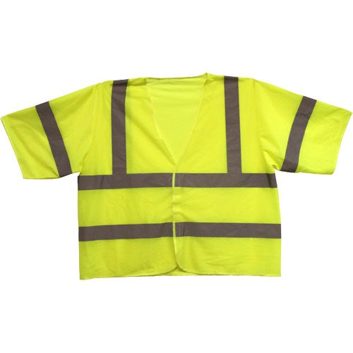 ANSI 3 Yellow Safety Vest