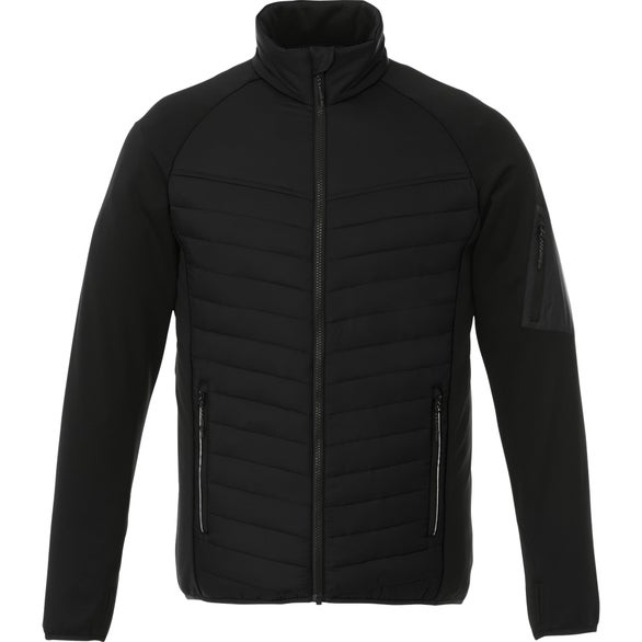 Black Banff Hybrid Insulated Jacket by TRIMARK