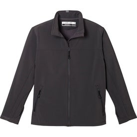Basin Softshell Jacket by TRIMARK for Promotion
