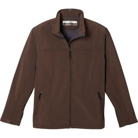 Basin Softshell Jacket by TRIMARK Branded with Your Logo