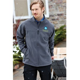Monogrammed Basin Softshell Jacket by TRIMARK