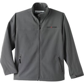 Logo Basin Softshell Jacket by TRIMARK