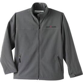 Logo Basin Softshell Jacket by TRIMARK