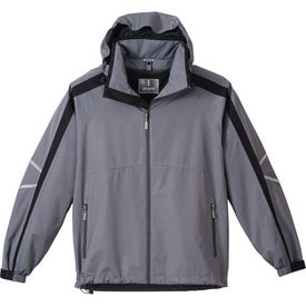 Printed Blyton Lightweight Jacket by TRIMARK