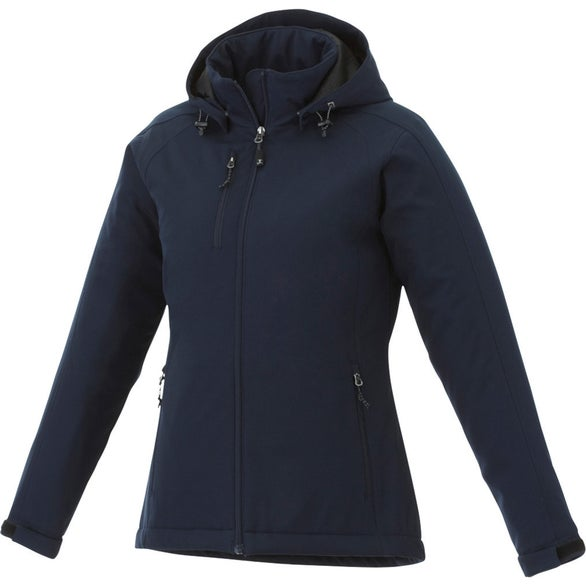 Navy Bryce Insulated Softshell Jacket by TRIMARK