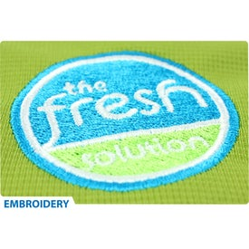 Burnout Fleece Full Zip Hoody by TRIMARK Branded with Your Logo