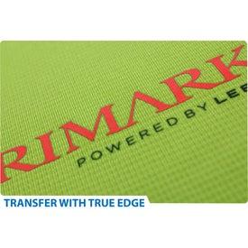 Logo Burnout Fleece Full Zip Hoody by TRIMARK