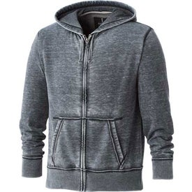 Advertising Burnout Fleece Full Zip Hoody by TRIMARK