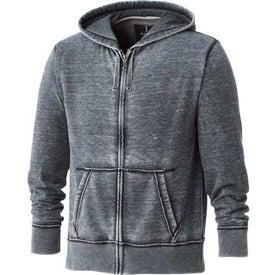 Advertising Burnout Fleece Full Zip Hoody by TRIMARK