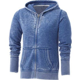 Promotional Burnout Fleece Full Zip Hoody by TRIMARK