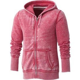 Company Burnout Fleece Full Zip Hoody by TRIMARK