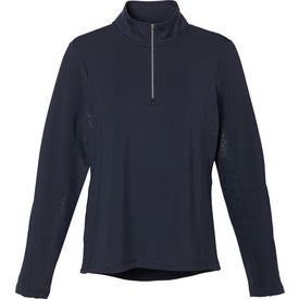 Customized Caltech Knit Quarter Zip Top by TRIMARK