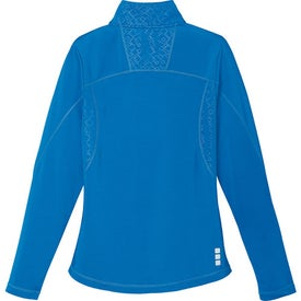 Branded Caltech Knit Quarter Zip Top by TRIMARK