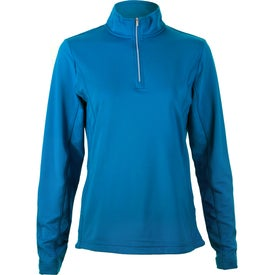 Caltech Knit Quarter Zip Top by TRIMARK for Your Company