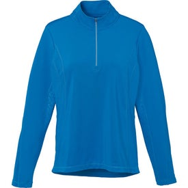 Caltech Knit Quarter Zip Top by TRIMARK (Women's)
