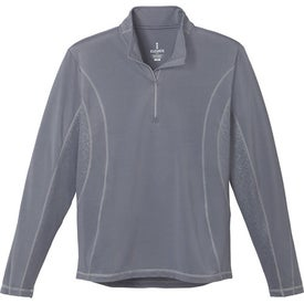 Promotional Caltech Knit Quarter Zip Top by TRIMARK