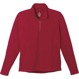 Caltech Knit Quarter Zip Top by TRIMARK for Advertising