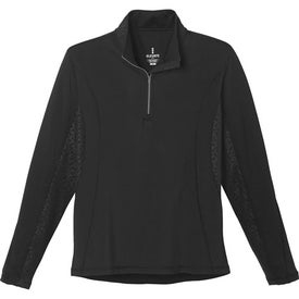 Caltech Knit Quarter Zip Top by TRIMARK (Men's)