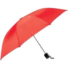 Monogrammed Charles Mini Manual Umbrella