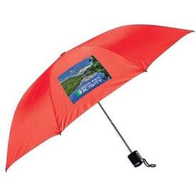 Imprinted Charles Mini Manual Umbrella
