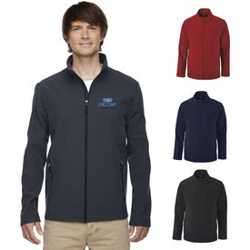 Core 365 Cruise Two-Layer Fleece Bonded Soft Shell Jackets (Men''s)
