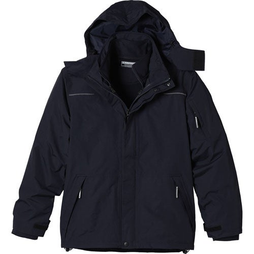 Navy Dutra 3-In-1 Jacket by TRIMARK