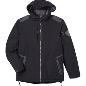 Elias Insulated Jacket by TRIMARK Branded with Your Logo