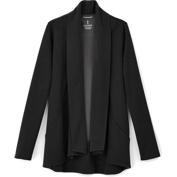 Black Equinox Knit Blazer By TRIMARK