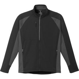 Galeros Knit Jacket by TRIMARK Imprinted with Your Logo