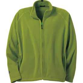 Branded Gambela Microfleece Full Zip Jacket by TRIMARK