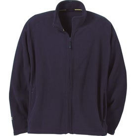 Logo Gambela Microfleece Full Zip Jacket by TRIMARK