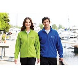 Customized Gambela Microfleece Full Zip Jacket by TRIMARK