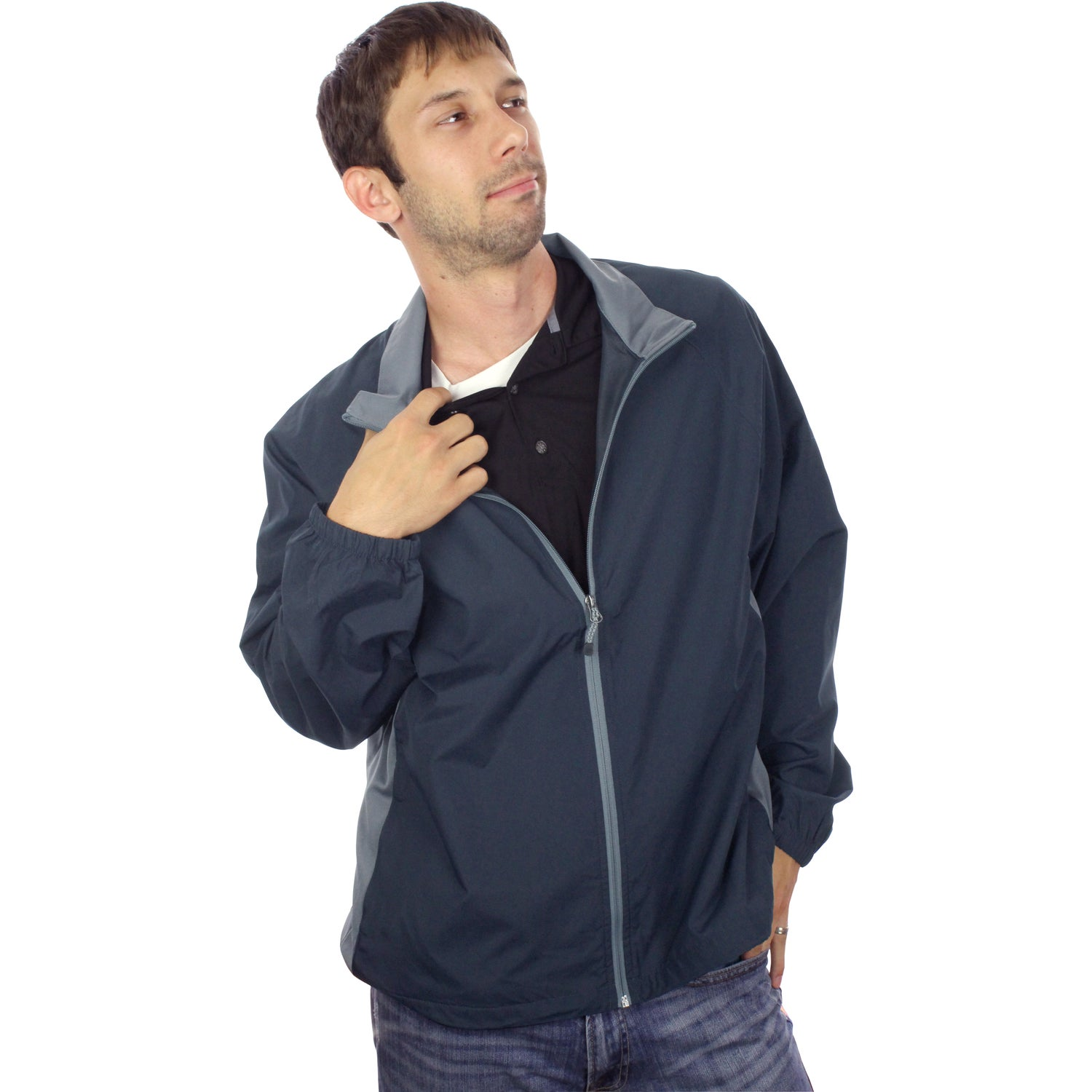 Promotional Grinnell Lightweight Jacket by TRIMARKs with Custom