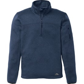 High Sierra Funston Knit 1/4 Zip Pullover by TRIMARK (Men's)