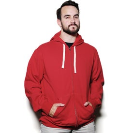 Personalized Huron Fleece Full Zip Hoody by TRIMARK