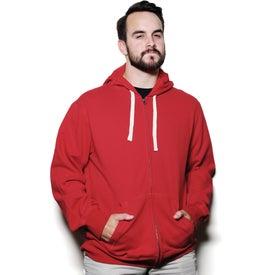 Personalized Huron Fleece Full Zip Hoody by TRIMARK